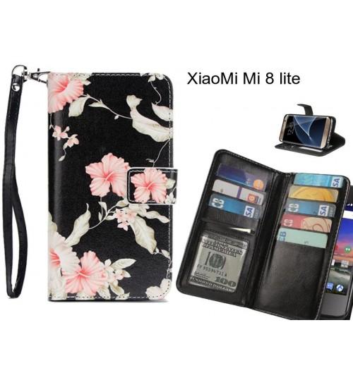 XiaoMi Mi 8 lite case Multifunction wallet leather case
