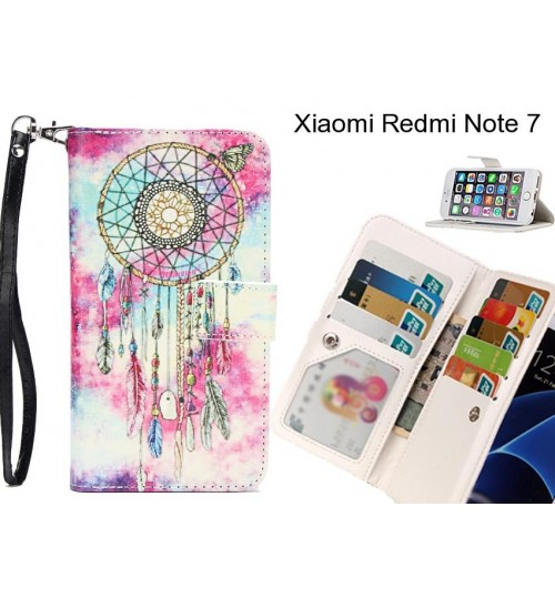 Xiaomi Redmi Note 7 case Multifunction wallet leather case