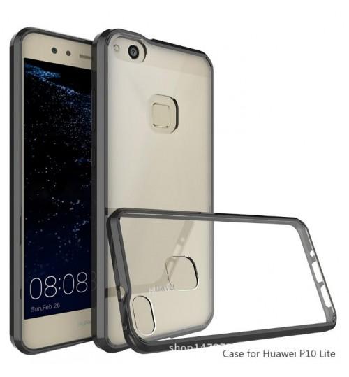 Huawei P10 lite case bumper  clear gel back cover