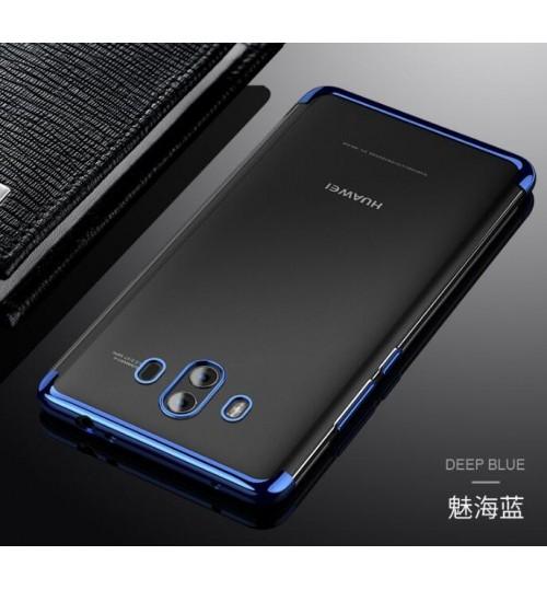 Huawei Mate 10 case bumper  clear gel back cover