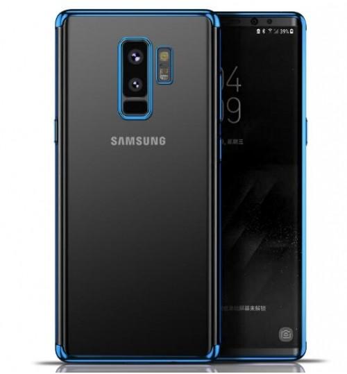 Galaxy S9 case Luxury Ultra-thin Slim Clear Soft TPU Gel Case Cover