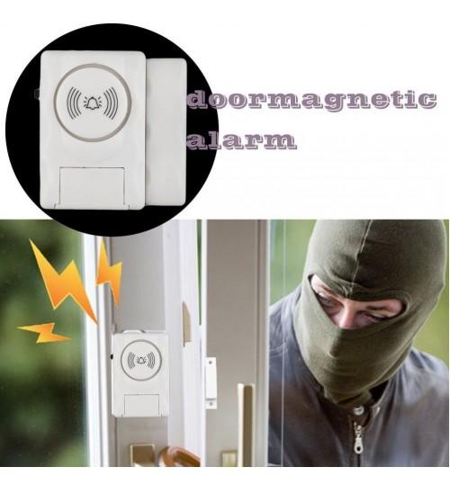 Wireless Home Door Window Entry Burglar Security Alarm Magnetic Sensor