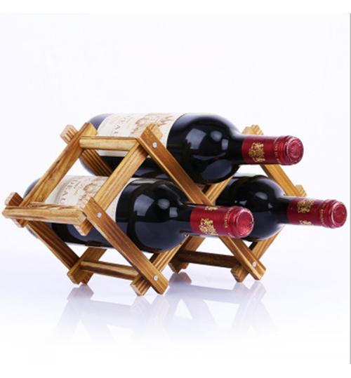Wooden Bottle Wine Rack