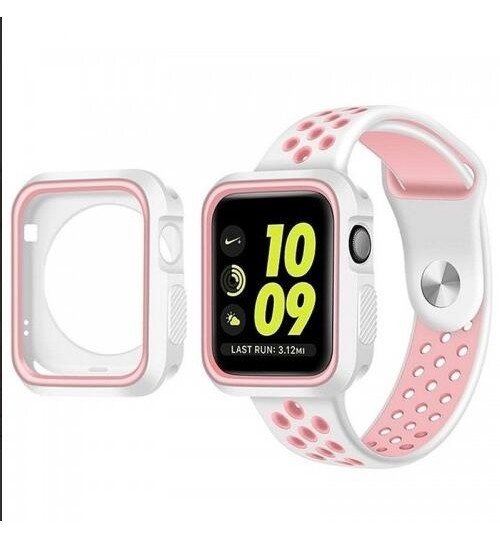 Apple watch iwatch Case Cover gen 44mm Protective Gel Silikon Bumper S4