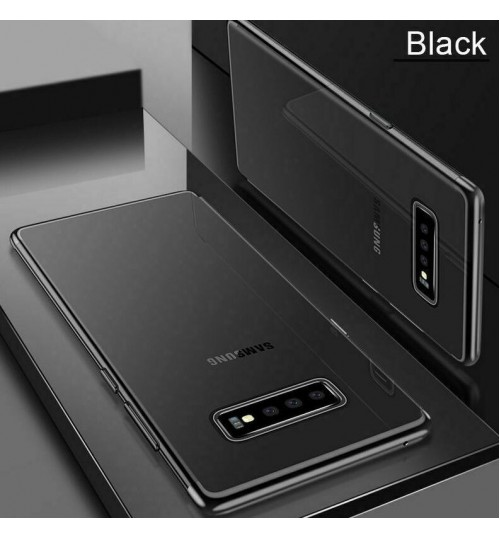 Galaxy S10 PLUS case bumper clear gel back cover