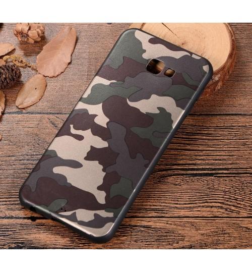 Galaxy J4 Plus Case Camouflage Soft Gel TPU Case