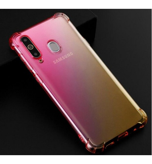 Samsung Galaxy A20 Gradient Silicone Soft Gel Case