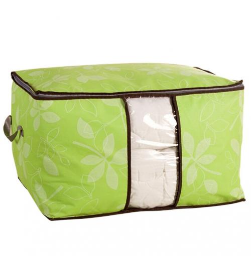 Foldable Storage Bag Clothes Blanket Quilt Closet Sweater Organizer Box Pouche