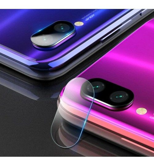 Xiaomi Redmi Note 7 camera lens protector tempered glass 9H hardness HD