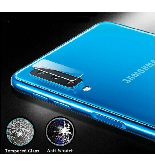 Galaxy A7 2018 camera lens protector tempered glass 9H hardness HD