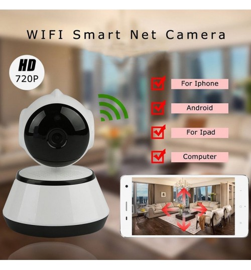 HD 720P IP Wifi Camera Wireless Night Vision