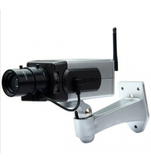 Dummy CCTV Security Camera with Activation Light