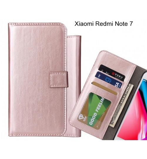 Xiaomi Redmi Note 7 case Fine leather wallet case