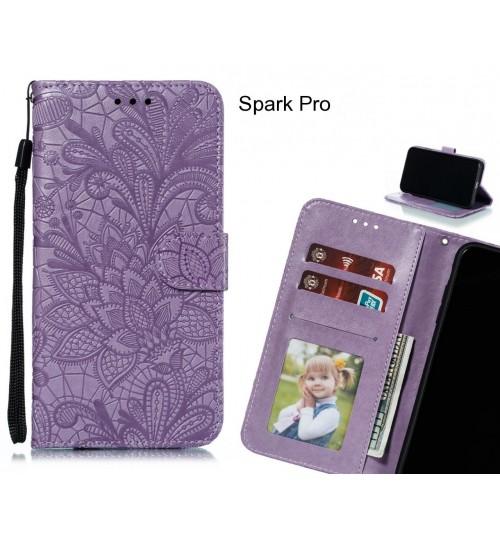 Spark Pro Case Embossed Wallet Slot Case