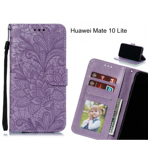 Huawei Mate 10 Lite Case Embossed Wallet Slot Case