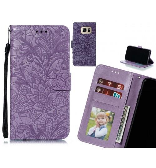 Galaxy S7 Case Embossed Wallet Slot Case