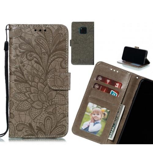 Huawei Mate 20 Pro Case Embossed Wallet Slot Case