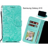 Samsung Galaxy A10 Case Embossed Wallet Slot Case