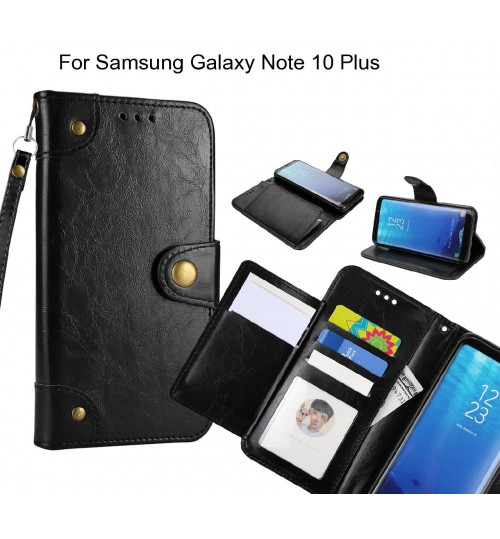 Samsung Galaxy Note 10 Plus  case executive multi card wallet leather case