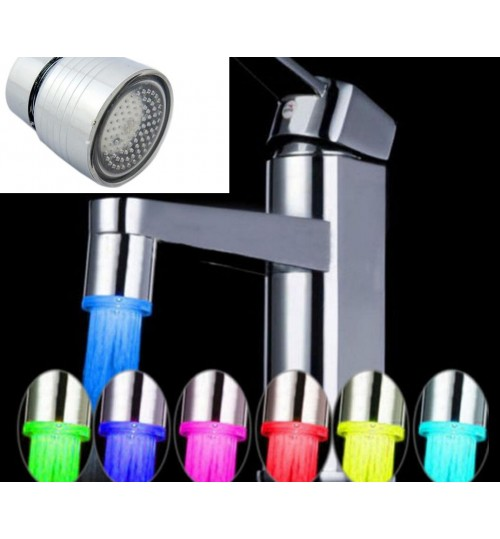 LED Faucet Light 7 Colors Changing