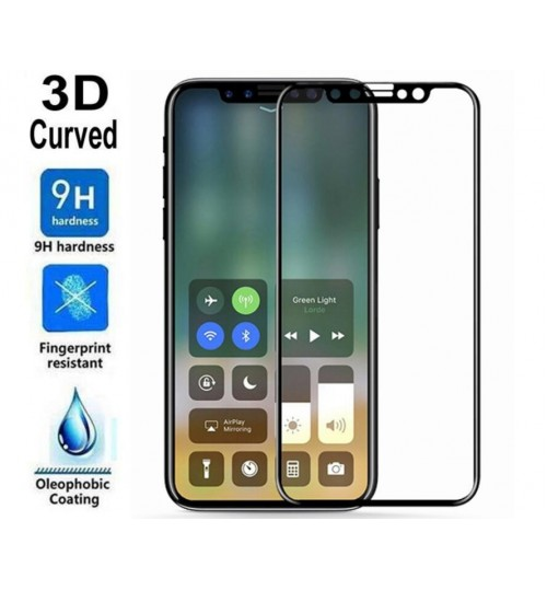 Iphone XS  FULL Screen covered Tempered Glass Screen Protector