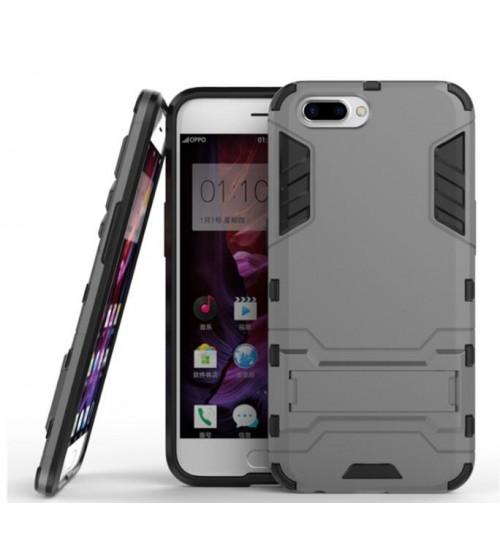 Oppo R11  Case Heavy Duty Hybrid Kickstand