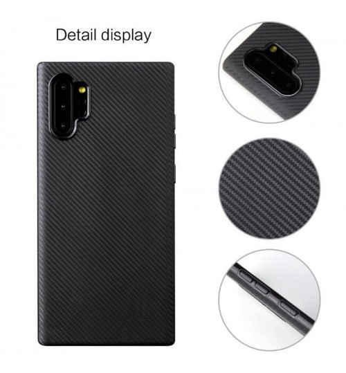 Galaxy Note 10 Plus case impact proof rugged case with carbon fiber