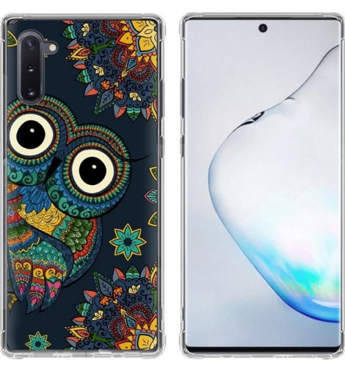 Galaxy Note 10 Case Printed Soft Gel TPU Case