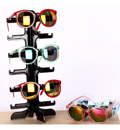 Sunglasses Holder Sunglasses Stand Rack 6 Pairs