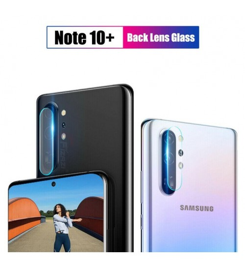 Samsung Galaxy Note 10 Plus camera lens protector tempered glass
