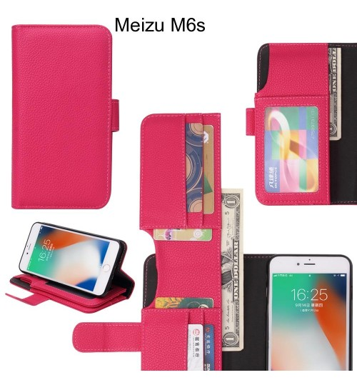 Meizu M6s Case Leather Wallet Case Cover