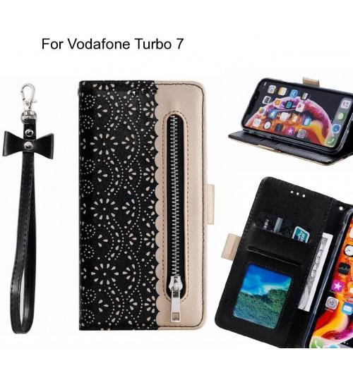 Vodafone Turbo 7 Case multifunctional Wallet Case
