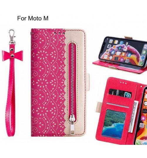 Moto M Case multifunctional Wallet Case