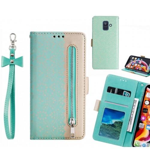 Galaxy A6 2018 Case multifunctional Wallet Case