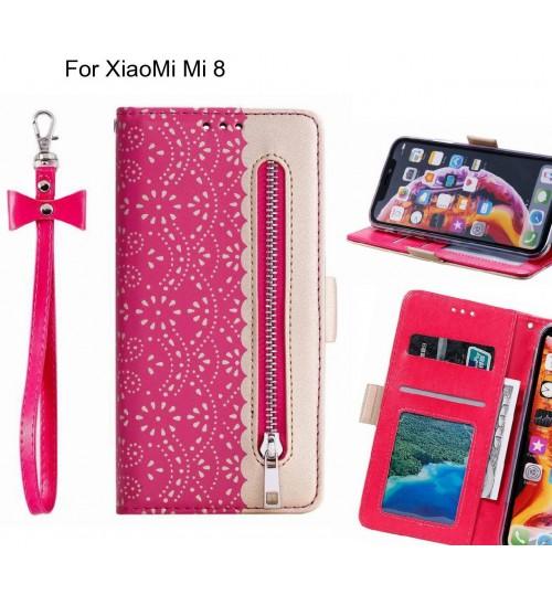XiaoMi Mi 8 Case multifunctional Wallet Case