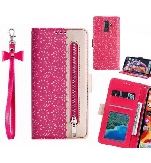 Galaxy J8 Case multifunctional Wallet Case