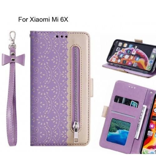 Xiaomi Mi 6X Case multifunctional Wallet Case
