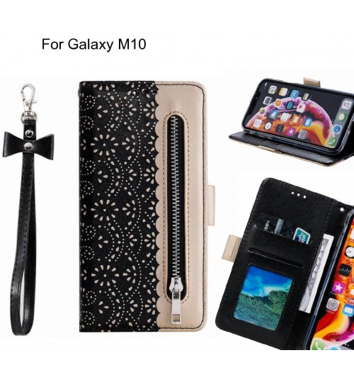 Galaxy M10 Case multifunctional Wallet Case