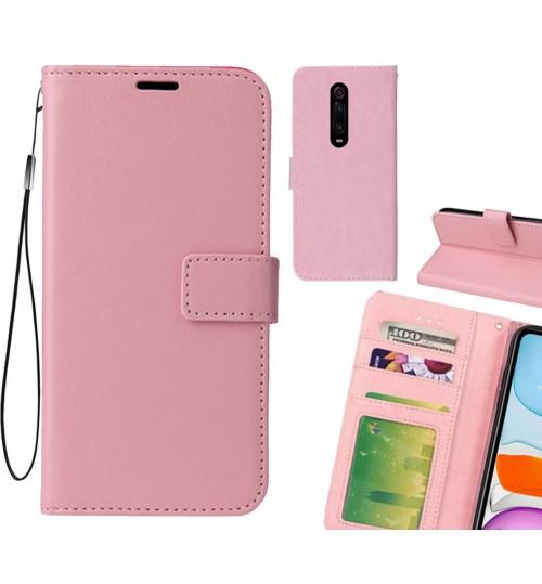 Xiaomi Redmi K20 case Fine leather wallet case