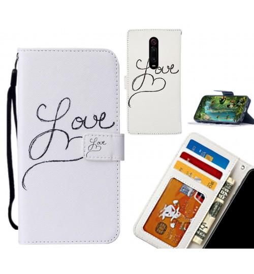 Xiaomi Redmi K20 case leather wallet case printed ID