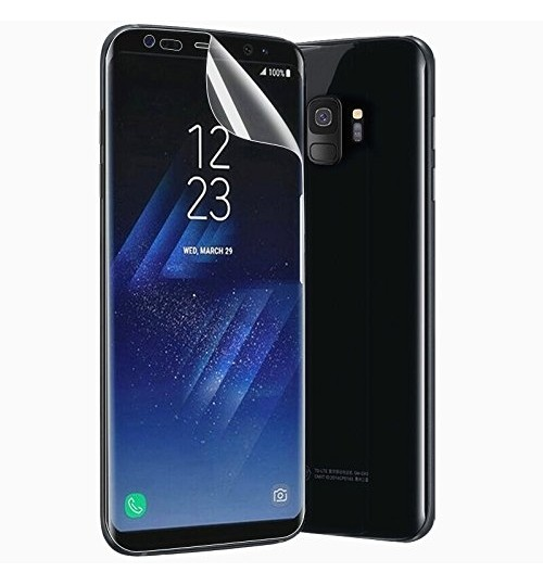 Galaxy S9 Screen Protector Hydrogel FULL COVER Soft Film