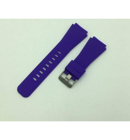 Samsung Gear S3 Silicone Replacement Watch Strap Band