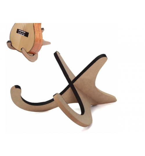 Wooden Holder Stand Hook For Violin Banjo Ukulele Rack
