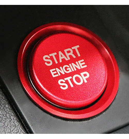 Audi Engine Start And Stop Button Ring