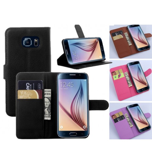 Samsung Galaxy s6 Wallet leather cover