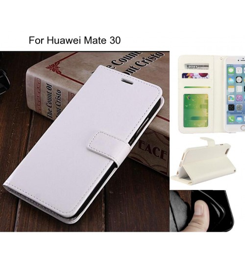 Huawei Mate 30 case Fine leather wallet case