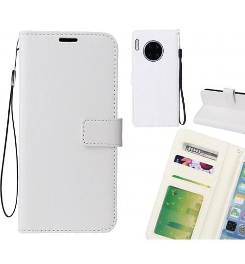 Huawei Mate 30 pro case Fine leather wallet case