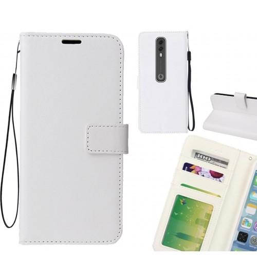 Vodafone V10 case Fine leather wallet case
