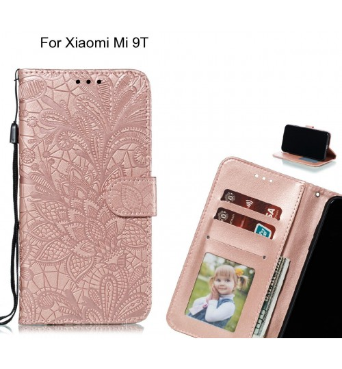 Xiaomi Mi 9T Case Embossed Wallet Slot Case