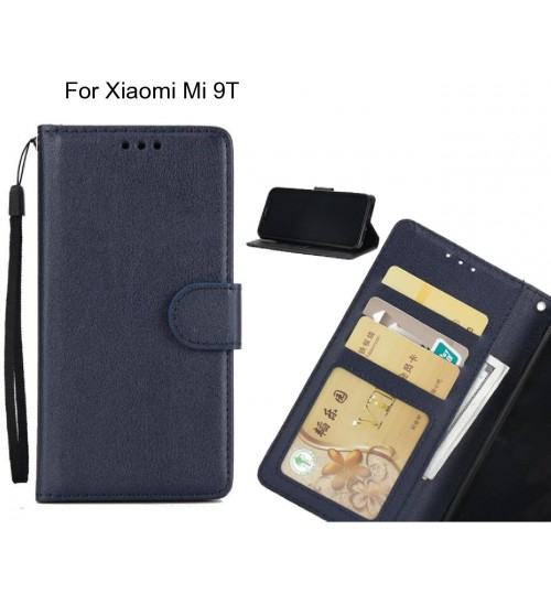 Xiaomi Mi 9T  case Silk Texture Leather Wallet Case